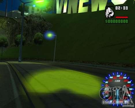 Novos efeitos para GTA San Andreas sétima tela