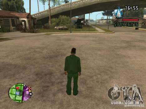 Asssassin Creed Style para GTA San Andreas segunda tela