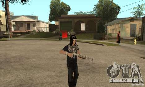 Criss Angel Skin para GTA San Andreas terceira tela