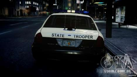 Ford Crown Victoria Fl Highway Patrol Units ELS para GTA 4