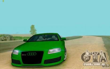 Audi RS6 OTIS para GTA San Andreas