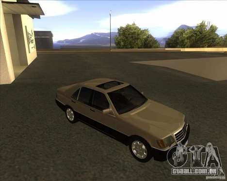 Mercedes Benz 400 SE W140 (Wheels style 2) para GTA San Andreas