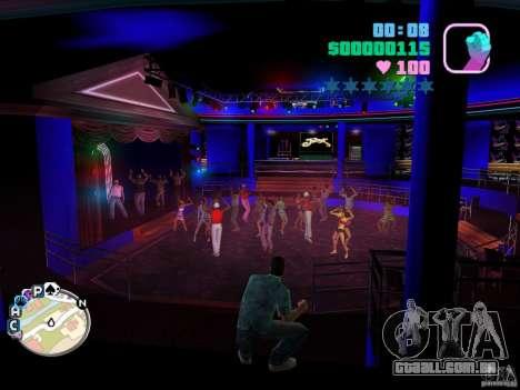 Texturas novas do clube VIP Club Malibu para GTA Vice City