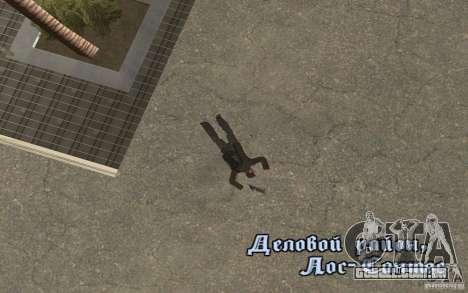 Unique animation of GTA IV V3.0 para GTA San Andreas sétima tela
