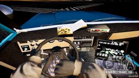 Dodge Diplomat 1983 Police v1.0 para GTA 4 vista de volta