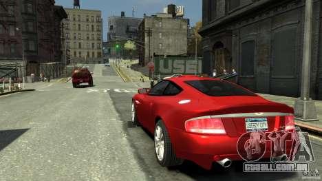 Aston Martin Vanquish S v 2.0 matizado para GTA 4 traseira esquerda vista
