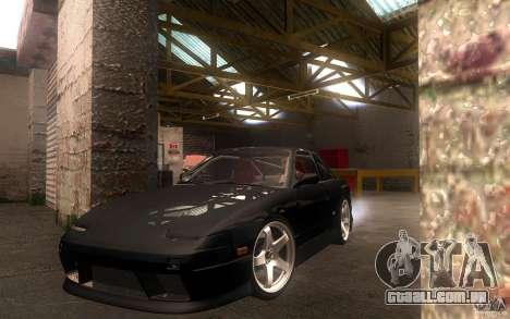 Nissan Silvia S13 Onevia para GTA San Andreas esquerda vista