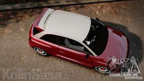 Audi A1 Quattro para GTA 4 vista direita