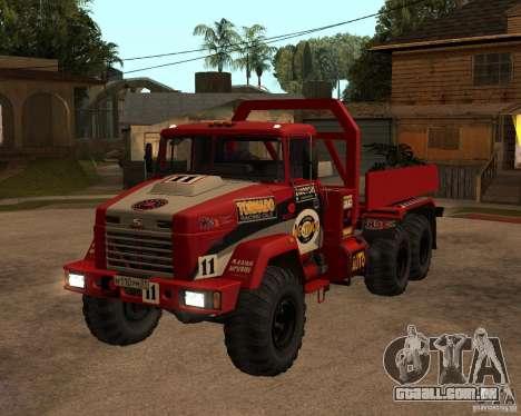 Julgamento KrAZ-6322 para GTA San Andreas