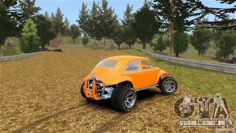 Baja Volkswagen Beetle V8 para GTA 4 esquerda vista