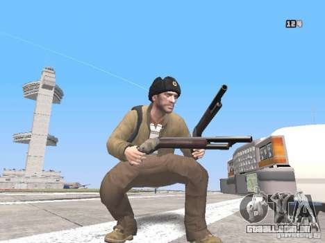 HQ Weapons pack V2.0 para GTA San Andreas terceira tela