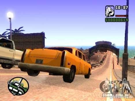 Timecyc BETA 2.0 para GTA San Andreas quinto tela