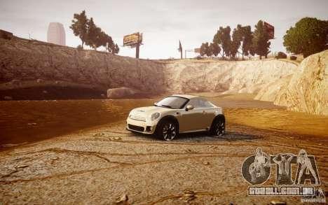 Mini Coupe Concept v0.5 para GTA 4 vista interior