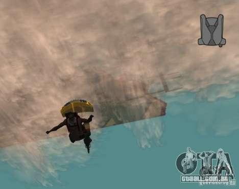 Pára-quedas sem fim para GTA San Andreas segunda tela
