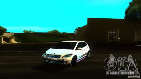 Mercedes-Benz A200 Turbo para GTA San Andreas