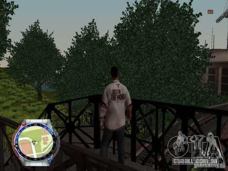 CM PUNK 2011 attaer para GTA San Andreas quinto tela