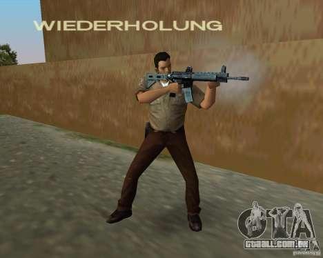 Armas de Pak de STALKER para GTA Vice City por diante tela