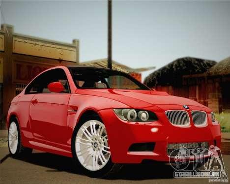 BMW M3 E92 v2.0 para GTA San Andreas