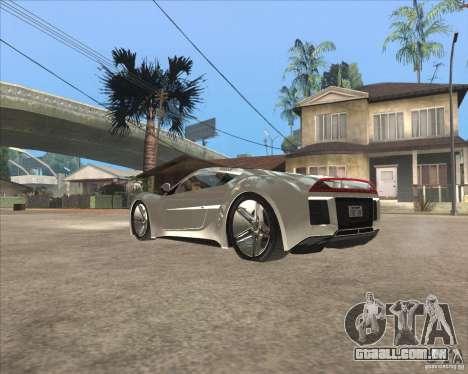 Saleen S5S Raptor para GTA San Andreas esquerda vista