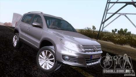 Volkswagen Tiguan 2012 para GTA San Andreas vista direita