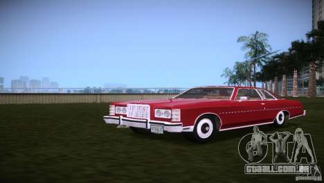 Ford LTD Brougham Coupe para GTA Vice City