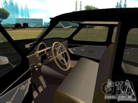 GÁS-21r para GTA San Andreas vista direita