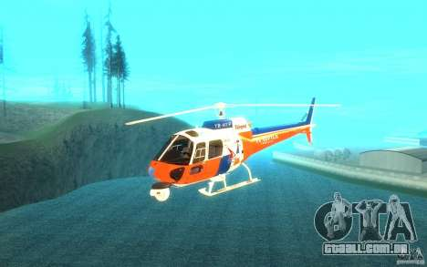 AS-350 TV para GTA San Andreas