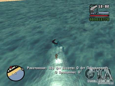 Overdose effects V1.3 para GTA San Andreas twelth tela
