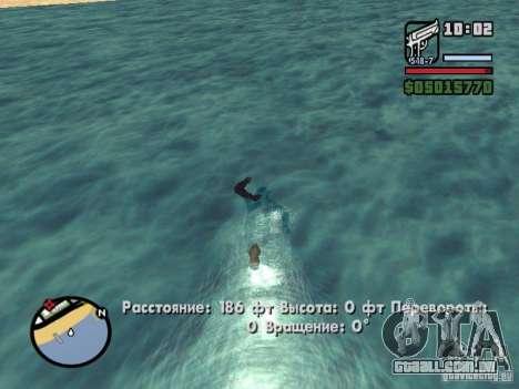 Overdose effects V1.3 para GTA San Andreas twelth tela