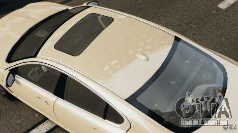 Jaguar XFR 2010 v2.0 para GTA 4 traseira esquerda vista