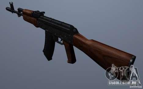 AKM para GTA San Andreas segunda tela