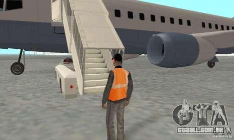 Airport Vehicle para GTA San Andreas oitavo tela