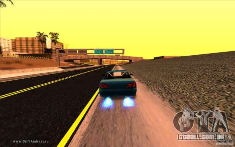 ENBSeries by MEdved para GTA San Andreas por diante tela