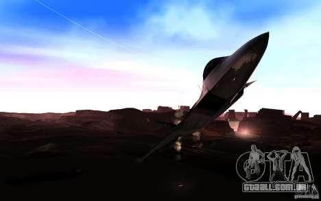 Configurando o ENBSeries para PC fraco para GTA San Andreas terceira tela
