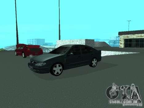 Renault Megane I para GTA San Andreas vista direita