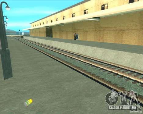 As plataformas elevadas em estações ferroviárias para GTA San Andreas sétima tela