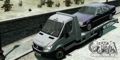Mercedes-Benz Sprinter 3500 para GTA 4 traseira esquerda vista