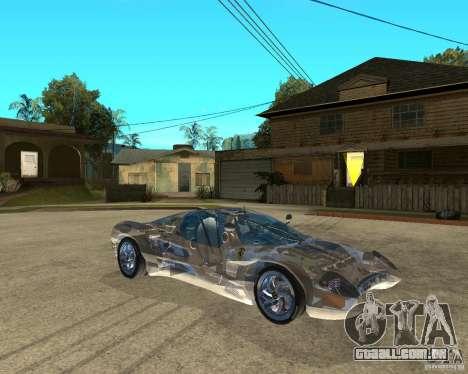 Ferrari P7 Crystal Lake para GTA San Andreas vista direita