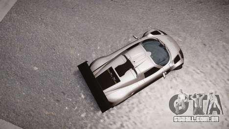 Gumpert Apollo Sport 2011 para GTA 4 traseira esquerda vista