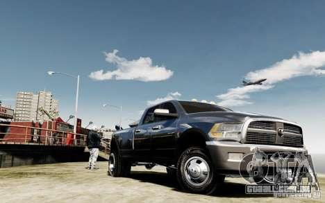 Dodge Ram 3500 Stock Final para GTA 4 vista de volta