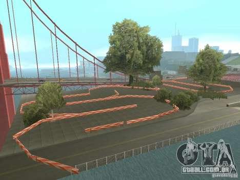 New Drift Track SF para GTA San Andreas