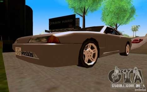 Novo Elegy para GTA San Andreas vista traseira