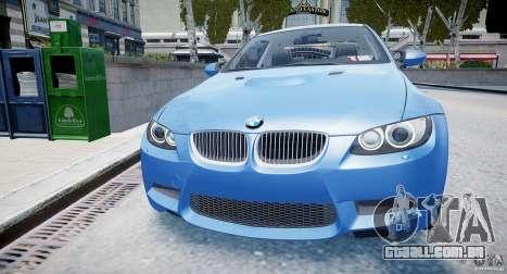BMW M3 E92 2008 v.2.0 para GTA 4 vista direita