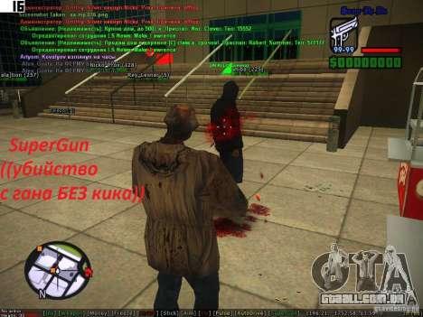 Sobeit for CM v0.6 para GTA San Andreas terceira tela