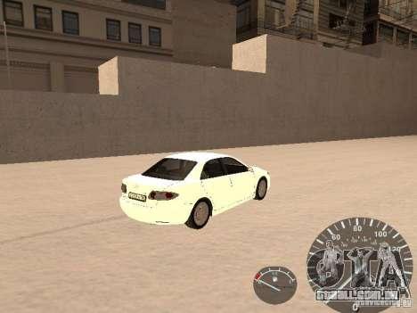 Mazda 6 2004 para GTA San Andreas traseira esquerda vista