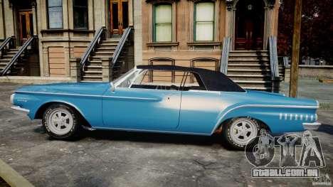 Dodge Dart 440 1962 para GTA 4 esquerda vista
