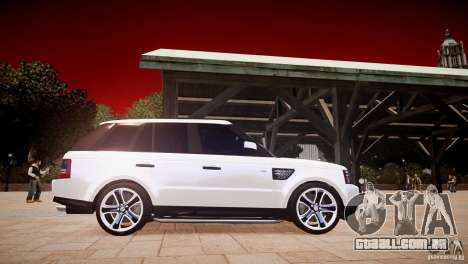 Range Rover Sport Supercharged v1.0 2010 para GTA 4 vista interior