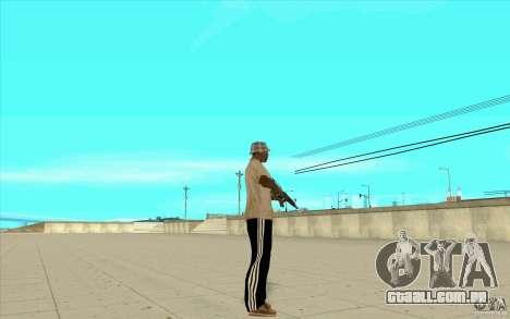Calças adidas para GTA San Andreas segunda tela