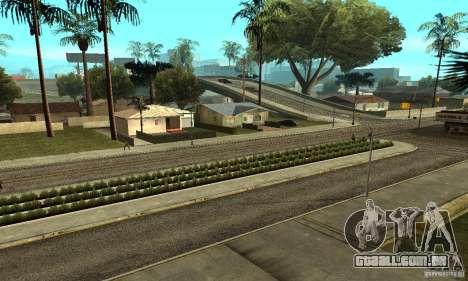Grove Street 2013 v1 para GTA San Andreas décima primeira imagem de tela