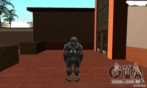 Crysis NanoSuit 2 para GTA San Andreas terceira tela